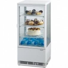 Вітрина холодильна біла 78 л