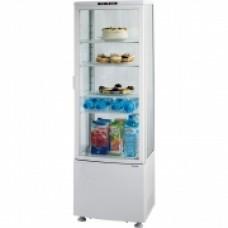 Вітрина холодильна біла 235  л