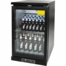 Вітрина шафа холодильна для пляшок 129 л