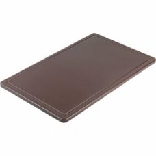 Дошка для нарізання GN 1/1 530*325 коричнева