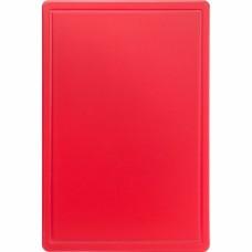 Дошка для нарізання 600*400 червона