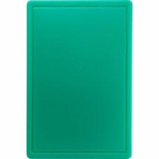 Дошка для нарізання 600*400 зелена