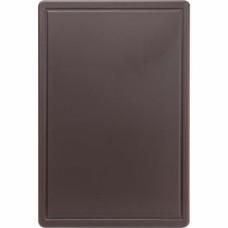 Дошка для нарізання 600*400 коричнева